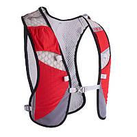Спортивный рюкзак-жилет Rimix Trail для бега с гидратором 2L красный