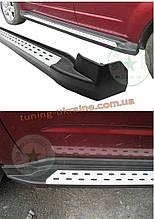 Боковые подножки Оригинал на Subaru Forester 2008-2013 гг.