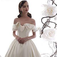 Свадебное платье. Весільна сукня пишна. Свадебное платье А силуэт пышное