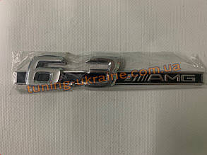 Надпись 6.3 AMG для Mercedes A-klass W177 2018+ гг.
