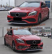 Передняя решетка Maybach на Mercedes A-klass W177 2018+гг.
