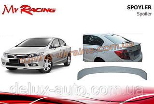 Спойлер сабля на багажник V2 на Honda Civic Sedan IX 2012-2016