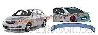 Спойлер на Hyundai Accent 2006-2010 гг.