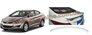 Спойлер сабля на багажник V1 на Hyundai Accent Solaris 2011-2017 гг.