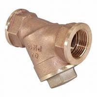 Фильтр муфтовый латунный сетчатый диаметр 32 (1 1/4)