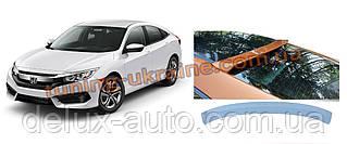 Спойлер бленда заднего стекла V4 на Honda Civic Sedan X 2016+
