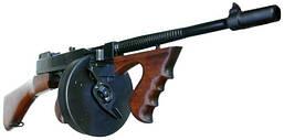 Автомат Томпсон с дисковым магазином Томми-ган M1 Submachine Gun Thompson USA 1928 (LS)