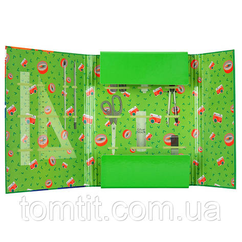Папка для труда «Jolliers», картонная на резинке, ТМ Kite, фото 2