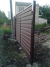 Ворота из профнастила 3 м., фото 2