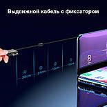 Внешний аккумулятор с беспроводной зарядкой Power Bank Qi Evio D41 на 10000 мАч, фото 4