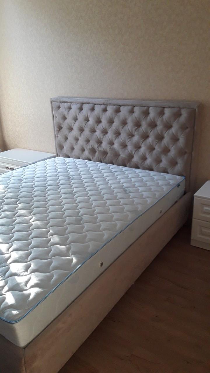 Двуспальная кровать НЕЖНОСТЬ. Кровать на заказ Днепр.
