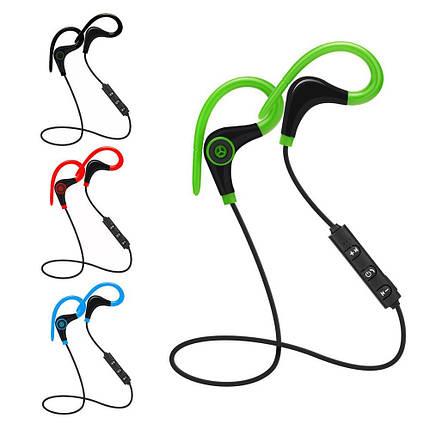 Спортивные Bluetooth наушники BTZ1 со встроенным микрофоном для занятия спортом, фото 2