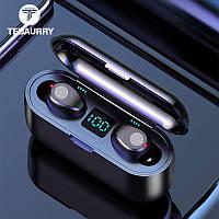 Беспроводные Bluetooth наушники с микрофоном Tebaurry F9-touch