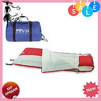 Спальный мешок 68047 sh Bestway в сумке Красный | спальник для туризма | одеяло для похода, фото 1