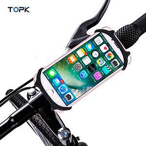 Универсальный велодержатель (холдер) Topk H03 для смартфона (Черный)