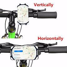 Универсальный вело держатель (холдер) Topk H03 для смартфона (Красный), фото 3