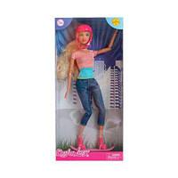 """Кукла скейтер """"Defa"""" (блондинка в розовом) 8375 scs"""