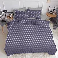 Комплект евро взрослого постельного белья LOVE PURPUR GREY