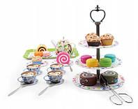 Детский чайный сервиз с десертами MatMay 39 ел.