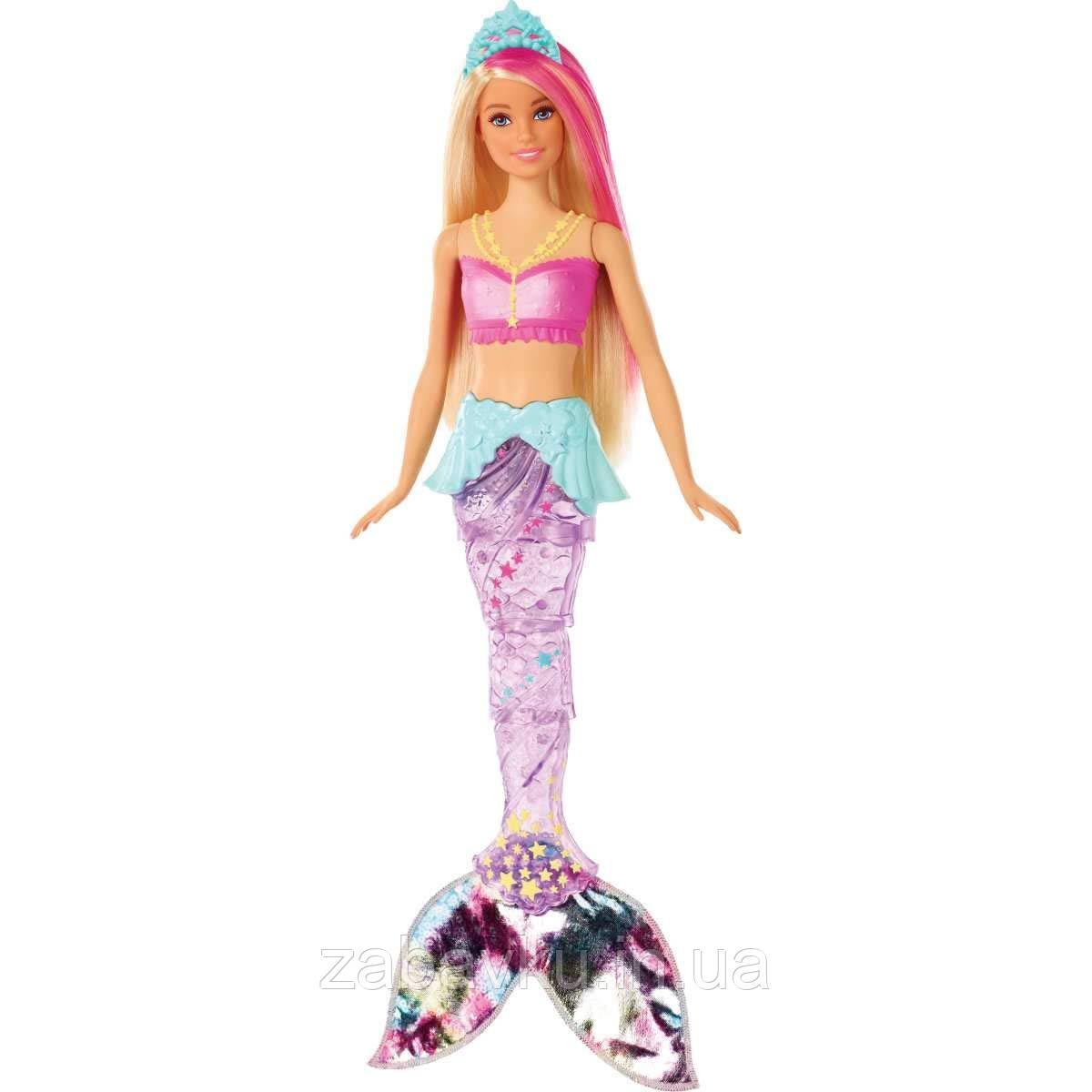 Барбі райдужна русалочка, Barbie Dreamtopia Sparkle Lights Mermaid Blonde
