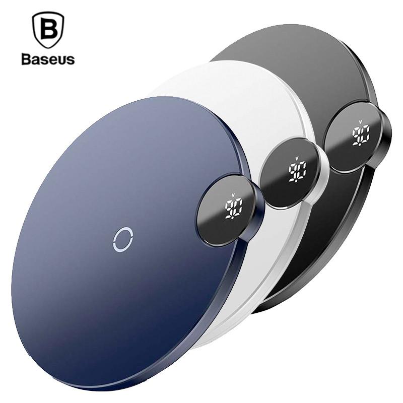 Беспроводное зарядное устройство Baseus Digital LED Display Wireless Charging (BSWC - P21)