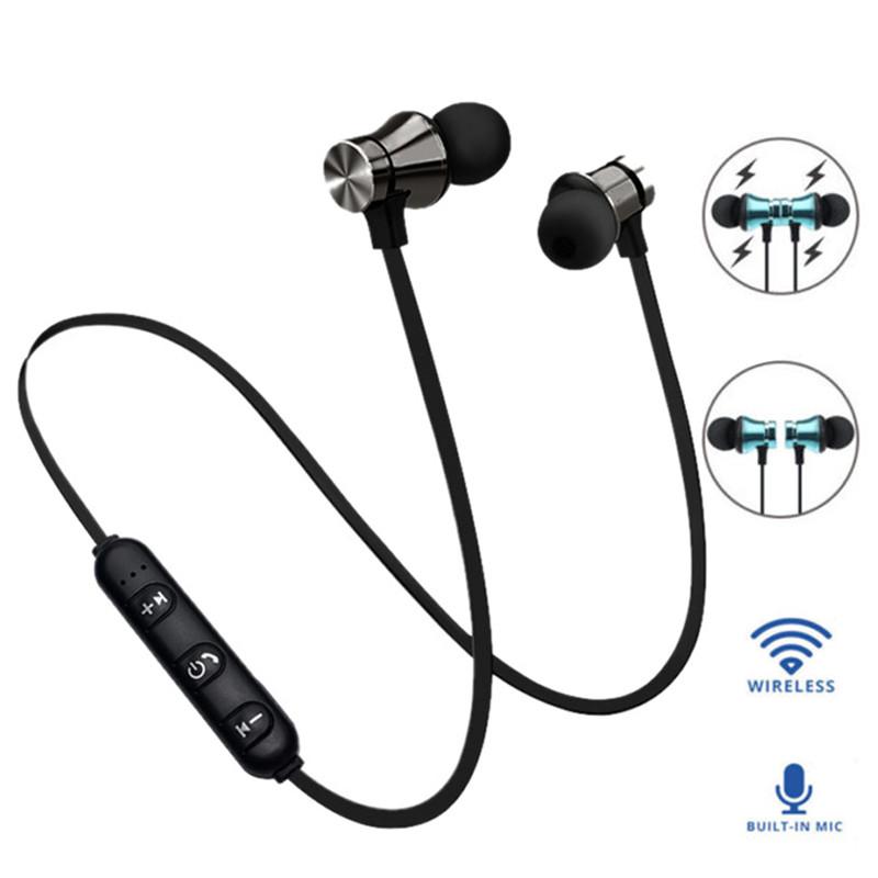 Беспроводные Bluetooth наушники XT11 со встроенным микрофоном (Черные)