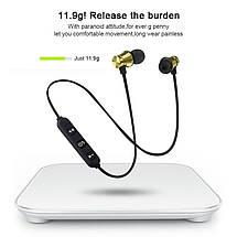 Беспроводные Bluetooth наушники XT11 со встроенным микрофоном (Черные), фото 2
