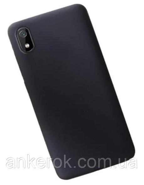 TPU Чохол-бампер для Xiaomi Redmi 7a (Black)