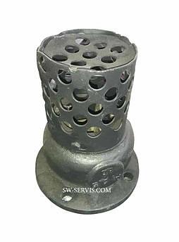 Клапан приемный с сеткой ду400 16ч42р Ру2,5