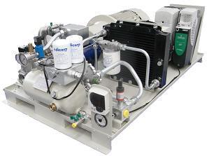 Винтовой газовый компрессор ADICOMP VGE 11.0-6.0BD INV (OF)