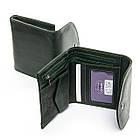 Женский кошелек кожаный Bond (12x10x2,5 см) зеленый, фото 2