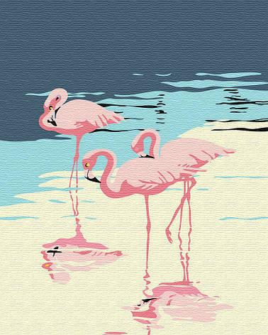 "Картина по номерам. Brushme ""Фламинго на берегу"" GX30315, фото 2"