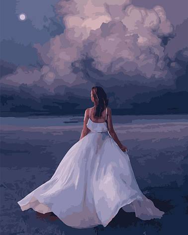 "Картина по номерам. Brushme ""Красавица в белом"" GX25408, фото 2"