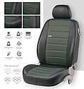 Чехлы на сиденья EMC-Elegant Mercedes Vito (1+1/2/3) 7 мест с 2003 г, фото 4