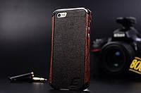 Бампер для iPhone 5 5S Ronin Element Case (дерево и металл), фото 1