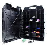 Кейс для хот вилс  Hot Wheels Car Storage Case чемодан холдер Хот Вілс, фото 3