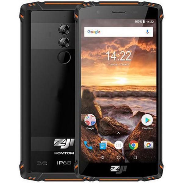 Смартфон HomTom Zoji Z9 (orange) 6/64Гб оригинал - гарантия!