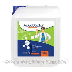 Рідкий засіб для зниження pH Minus (Сірчана 35%) 20 л. Хімія для басейну AquaDoctor
