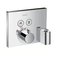 Внешняя часть термостата Hansgrohe ShowerSelect 15765000
