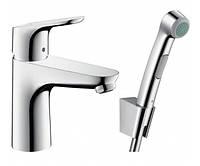 Смеситель c гигиеническим душем Hansgrohe Focus Е2 31927000