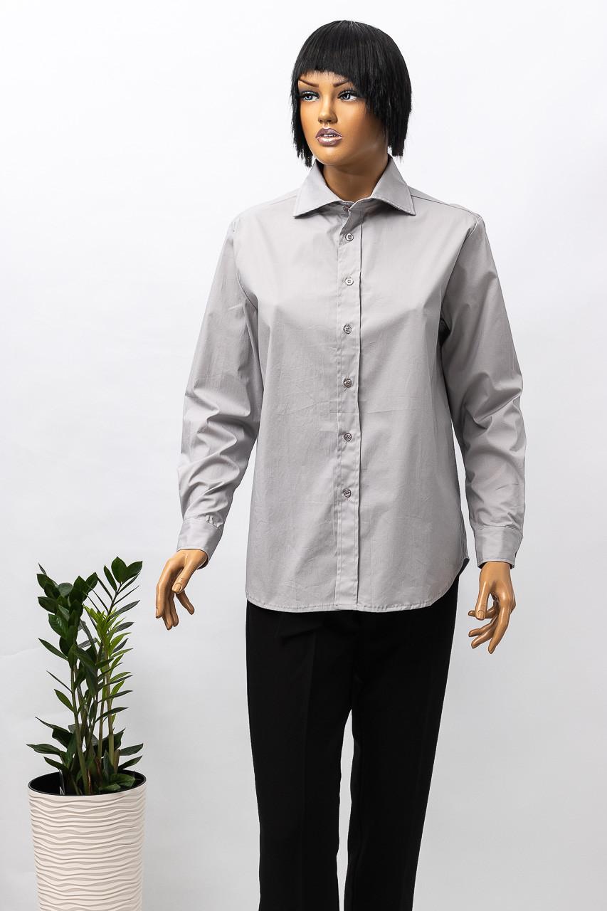 Рубашка с длинным рукавом женская WENDY TRENDY 219587 GREY