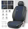 Чохли на сидіння EMC-Елегантний Volkswagen Caddy (1+1) з 2010 р, фото 3