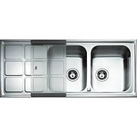 Кухонная мойка из нержавеющей стали Teka CUADRO 2B 1D 12121001
