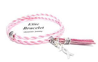 Браслет Рожевий шовк