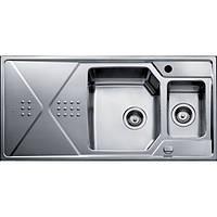 Кухонная мойка из нержавеющей стали Teka EXPRESSION 1 1/2 B 1D 12126011