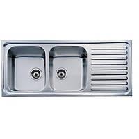Кухонная мойка из нержавеющей стали Teka CLASSIC 2B 1D 10119051