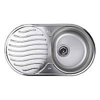 Кухонная мойка из нержавеющей стали Teka DR 78 1B 1D 10130001