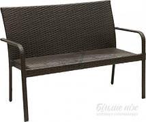 Диван садовый INDIGO HYC-005D 63х123 см коричневый