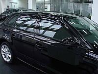 Дефлектора окон AUDI A3/S3, 2005-, 4ч., темный