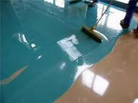 Полимерный наливной пол (прокрас)